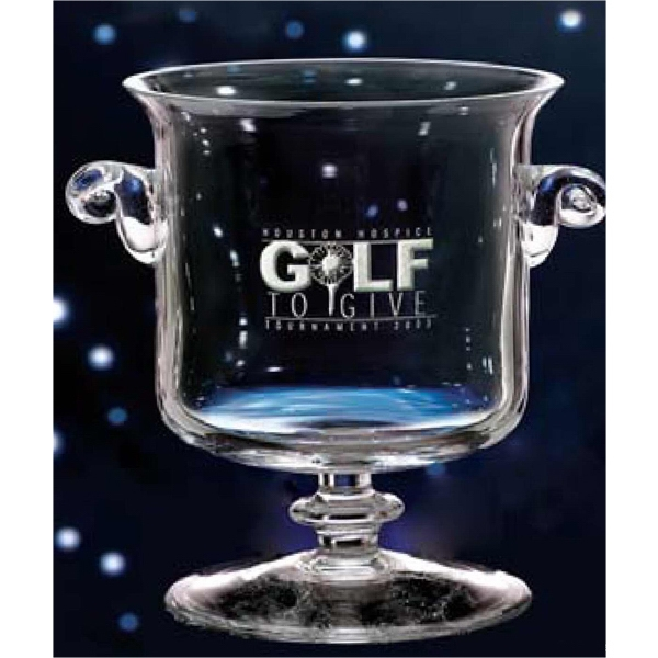 Mckinley - Large - Mouth-blown Cup Award Features A Little Bit Of Class And A Whole Lot Of Sparkle Photo