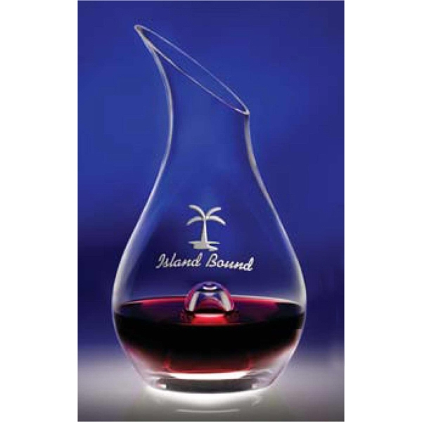 Essence - Wine Decanter Has A Punt Within The Base, Allows For Ease Of Pouring Photo