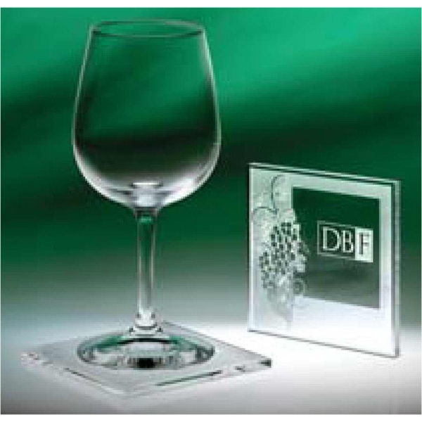 Abella - Individually Boxed Wine Coasters That Feature Our Etched Grape Design Photo