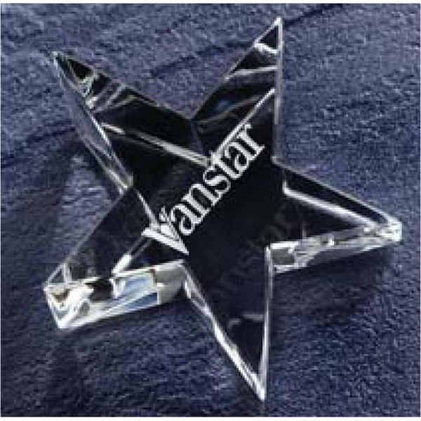 It's Crystal Clear, Our Optic Star Paperweight Has True Stellar Qualities Photo