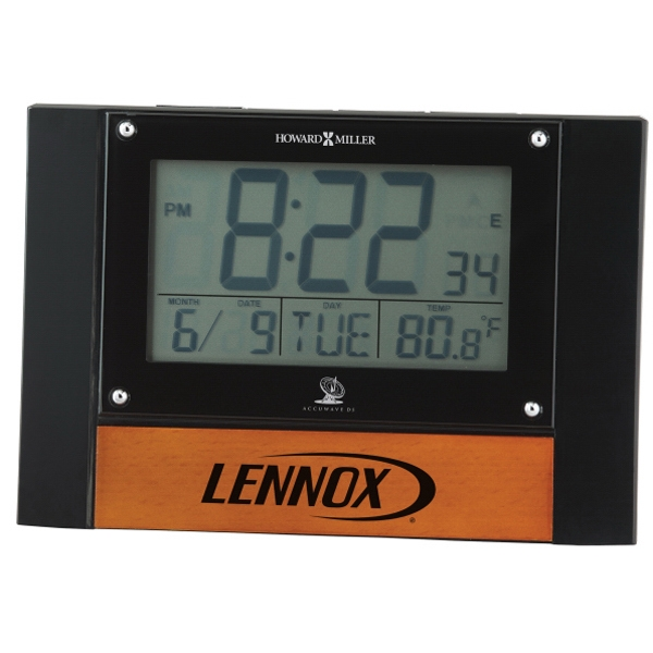 Anaston Accutech - Lcd Alarm Clock With Thermometer And Calendar Photo