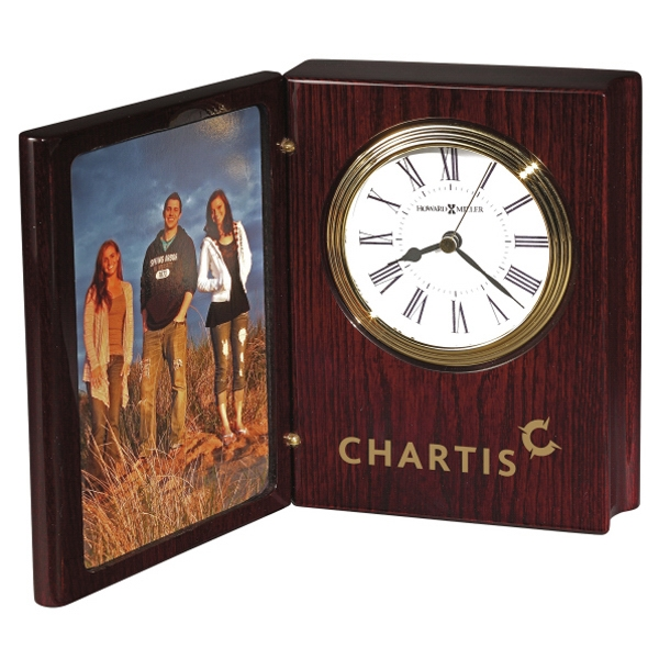 "Portrait Book Ii - Rosewood Hall ""book"" Clock And Frame Photo"