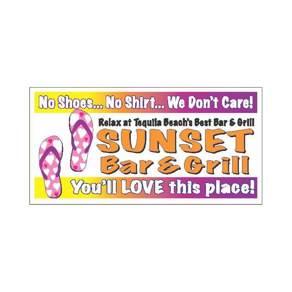 "7 1/2"" X 3 3/4"" Bumper Sticker With 4-color Process Printing Photo"
