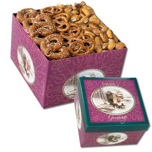Utz(r) Snack On - Pretzels 3-way Gift Box With Utz Brand Hard, Specials And Nugget Pretzels Photo