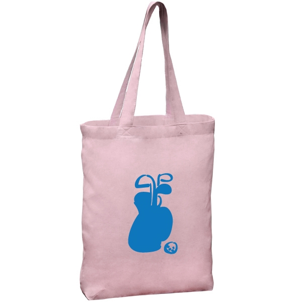 6 Oz. Cotton Tote Bag With Self Fabric Handles Photo