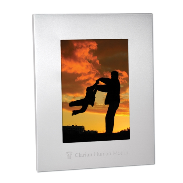 "Aluminum 4"" X 6"" Picture Frame Photo"