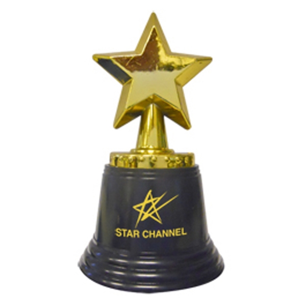"4 1/2"" Tall Star Trophy Photo"