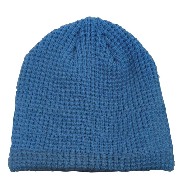 Big Bear Eco Beanie - Beanie. Lining on inside. Blank.