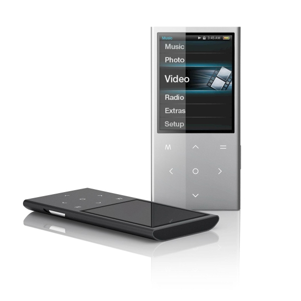 "2.4"" Touchpad Video Mp3 Player, 4 Gb Photo"
