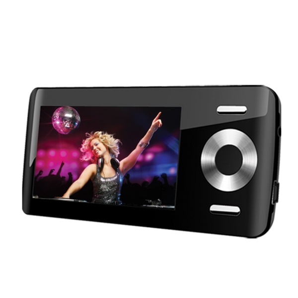 "2.8"" Widescreen Video Mp3 Player, 8 Gb Photo"