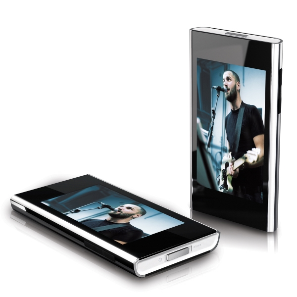 "2.8"" Touchscreen Video Mp3 Player, 8 Gb Photo"