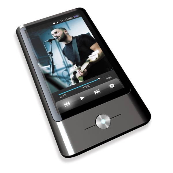 "3"" Touchscreen Video Mp3 Player, 8 Gb Photo"