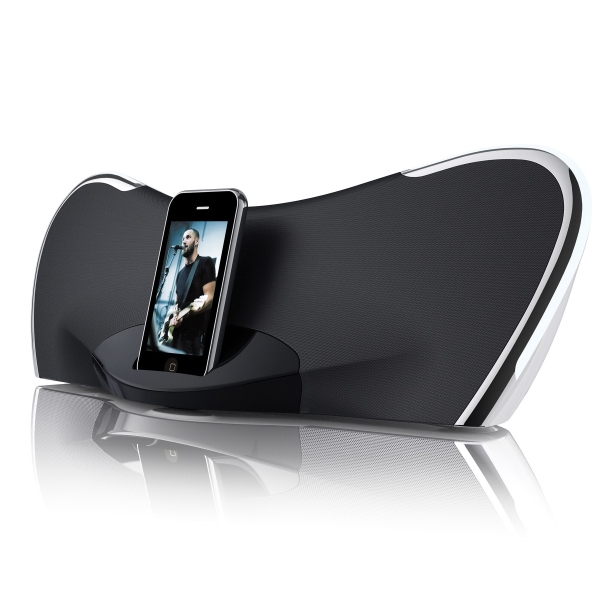 Iphone Ipod Docking Speaker With Logo Printed Photo