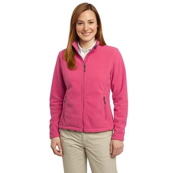 Port Authority (r) -  X S -  X L All Colors - Ladies' Jacket. This Exceptionally Soft Fleece Jacket Will Keep You Warm Photo
