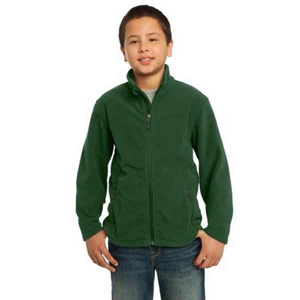 Port Authority (r) - This Exceptionally Soft Youth Fleece Jacket Will Keep You Warm Photo
