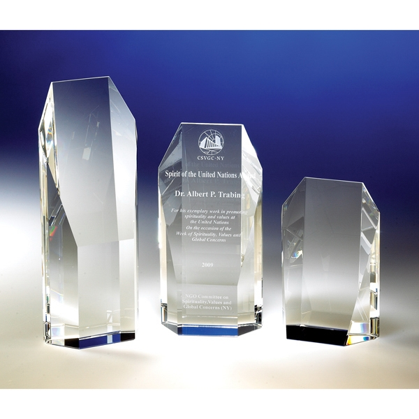 Vanguard - Vanguard Crystal Award By Crystal World Photo