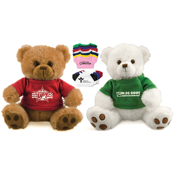 "12"" Plush Bear With T-shirt Photo"