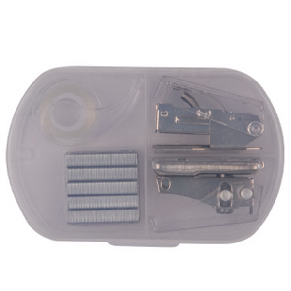 Hole Punch, Stapler and Tape Case Set