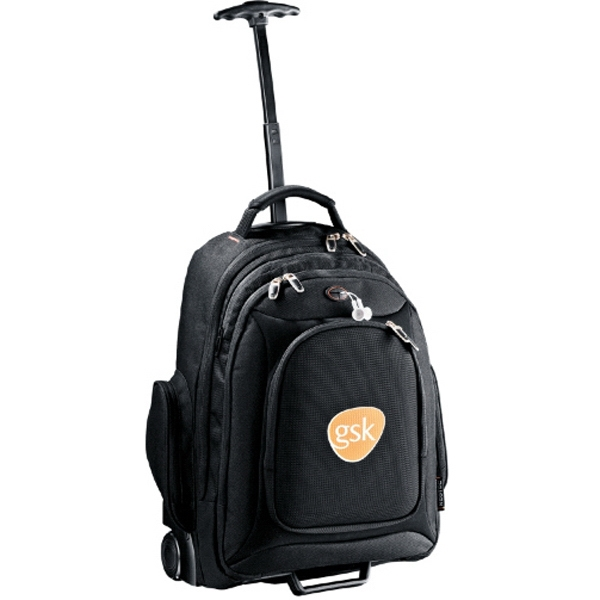 Neotec (r) - Rolling Computer Backpack, 2064 Denier Dobby Nylon, Neoprene And Polycanvas Photo