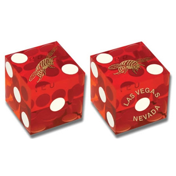 "Custom 3/4"" Casino-quality Perfect Dice Photo"