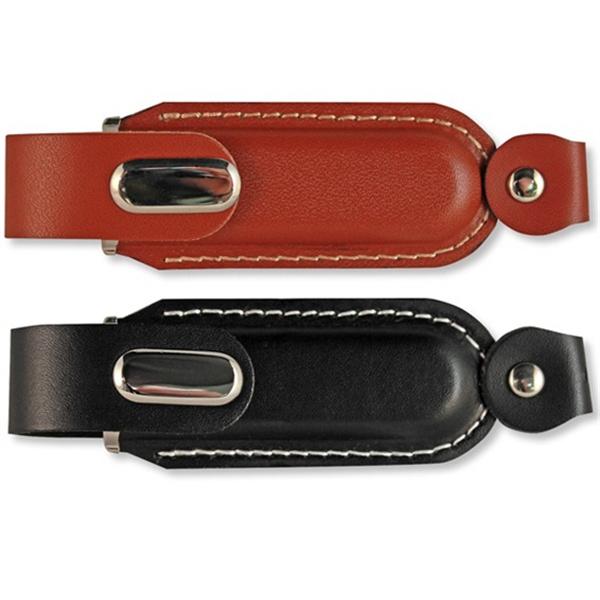 Executive Leather Web Key