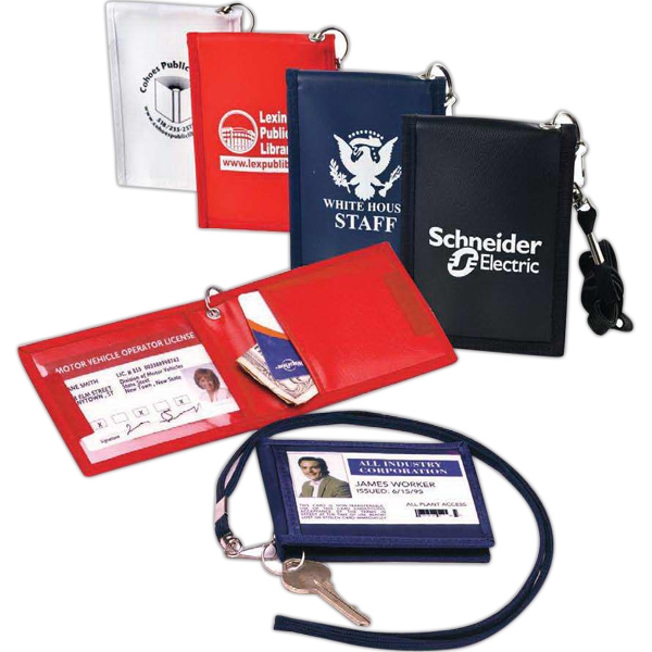The Identifier - Security Id Carrier With Matching Color Lanyard With Keyring Photo