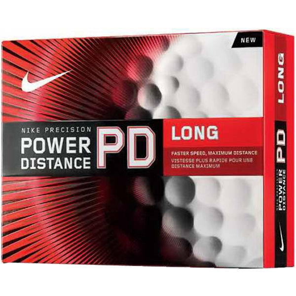 Nike (r) Power Distance Long - Catalog 3 Day Production - Golf Ball With High Velocity Core And Dimple Pattern Design Photo