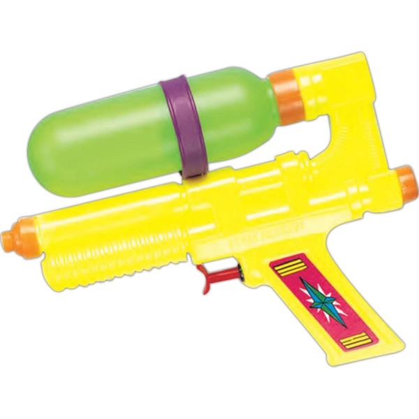 "Tanker - Water Gun, Medium, 7"". Imprinted Photo"