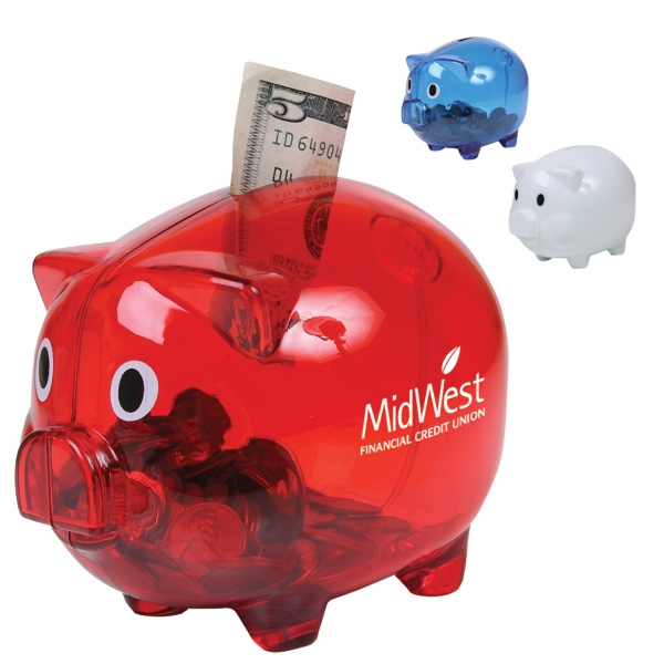 Piggy Bank With Googlie Eyes Photo