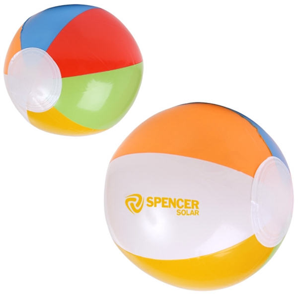 "16"" Multi Colored Beach Ball Photo"