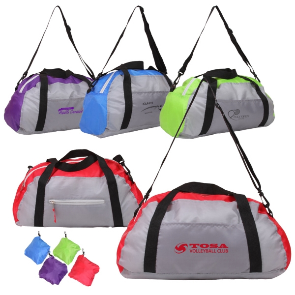 Stowaway Duffel With Two-tone Color Design Photo