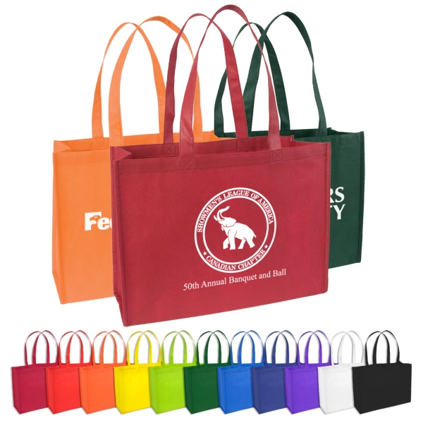 "Standard Non-woven Tote, Polypropylene With 22"" Handle Length Photo"
