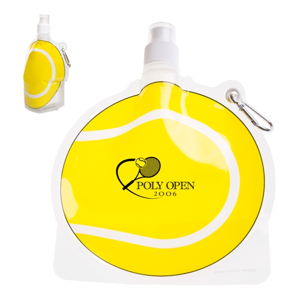 Hydropouch! (tm) - 24 Oz Tennis Ball Collapsible Water Bottle Photo