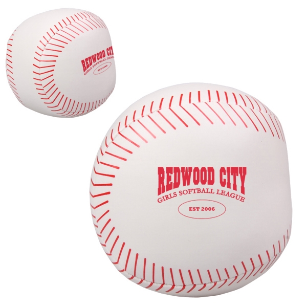 Baseball Pillow Ball Photo