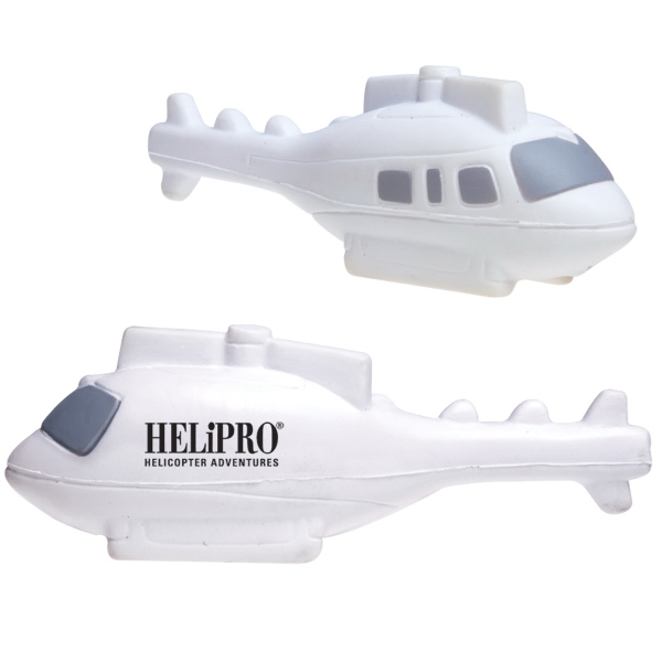 Helicopter Shaped Stress Ball Photo