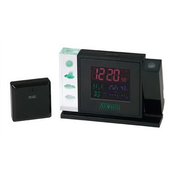 Crystal Weather Station With Projection Clock Photo