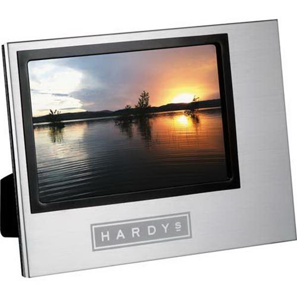 "Designer Aluminum Photo Frame, Holds A 4"" X 6"" Photo Photo"