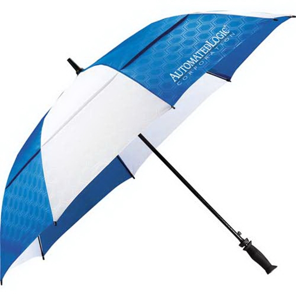 "Slazenger (r) Champions - Polyester 64"" Vented Auto Golf Umbrella Photo"