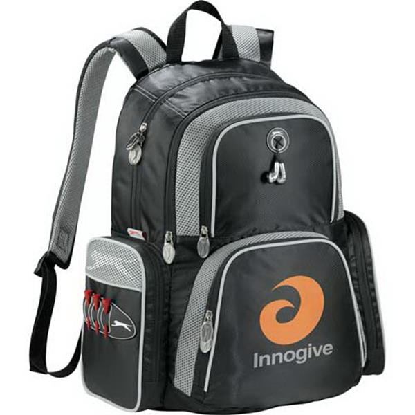 Slazenger (r) Turf Series - Computer Backpack Made Of 420d Diamond Dobby, 600d Polycanvas And Air Mesh Photo