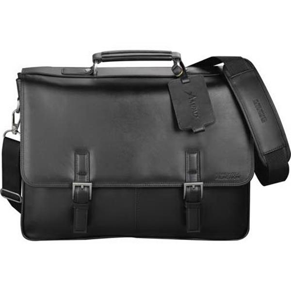 Kenneth Cole (r) - Computer Messenger Bag Made Of Genuine Top Grain Nappa Leather Photo