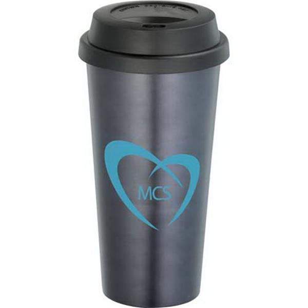 Gemstone - Stainless Steel 16 Oz. Tumbler With Plastic Liner Photo