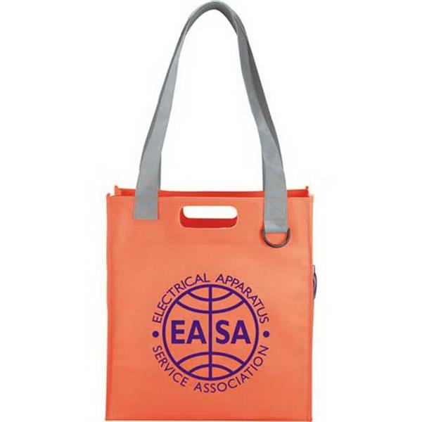 Overtime - Tote Bag With Open Main Compartment With D-ring Photo