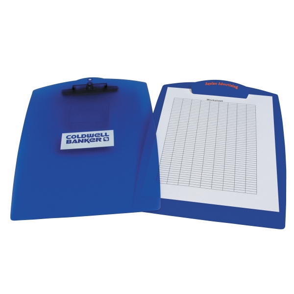 "Plastic Clipboard With 4 3/4"" X 1 1/2"" Clip Photo"