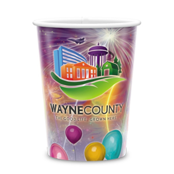 Reusable White Plastic Cup-17 Oz.-full Color- 5-day Std; Rush: 2,3,or 4-day Photo