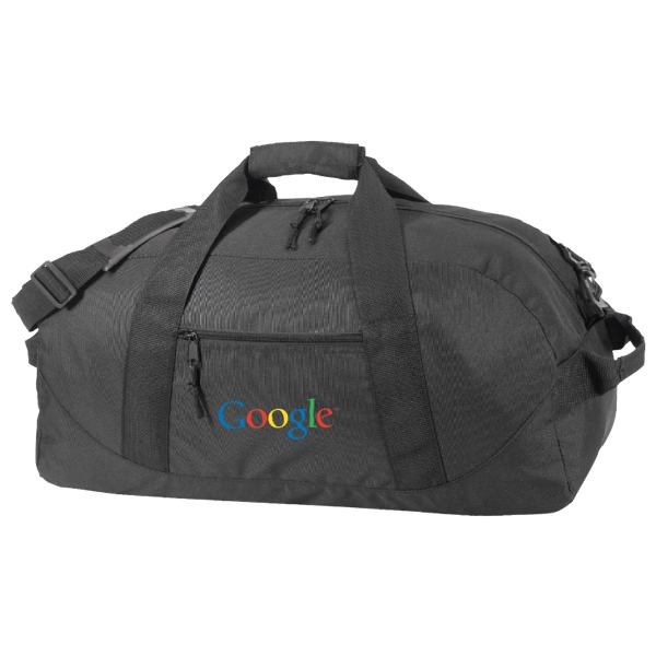 Eco-friendly Recycled Duffel Bag. 100% Post-consumer Recycled Pet Photo