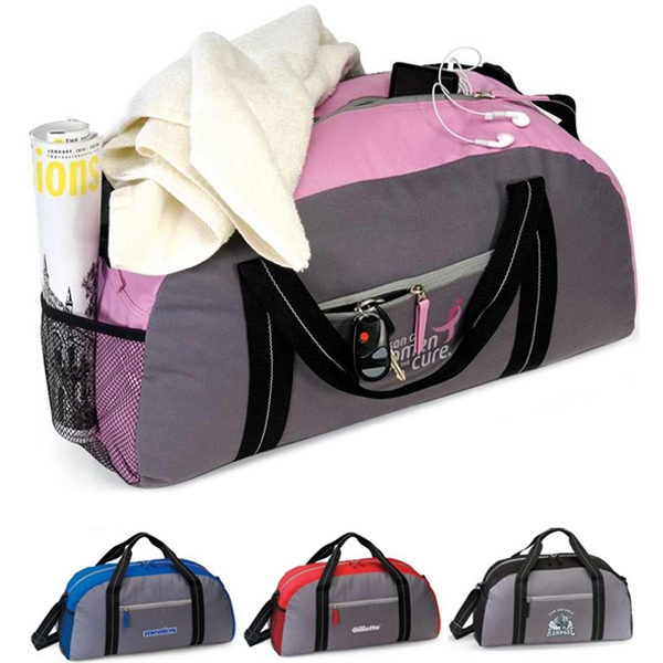 "Starter - Duffel Bag Made Of 600d Polyester. 20"" X 10.5"" X 8.5"". Closeout Photo"