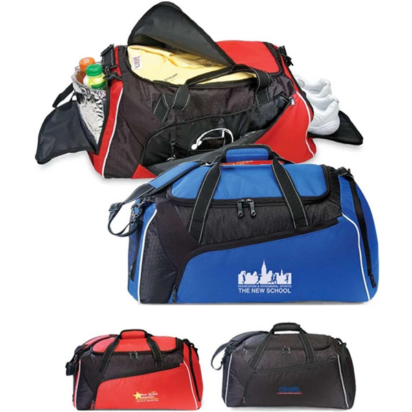 "Falcon - Duffel Bag Made Of 600 Denier Polyester/420 Denier Dobby, 24""w X 10.5""h X 11""d Photo"