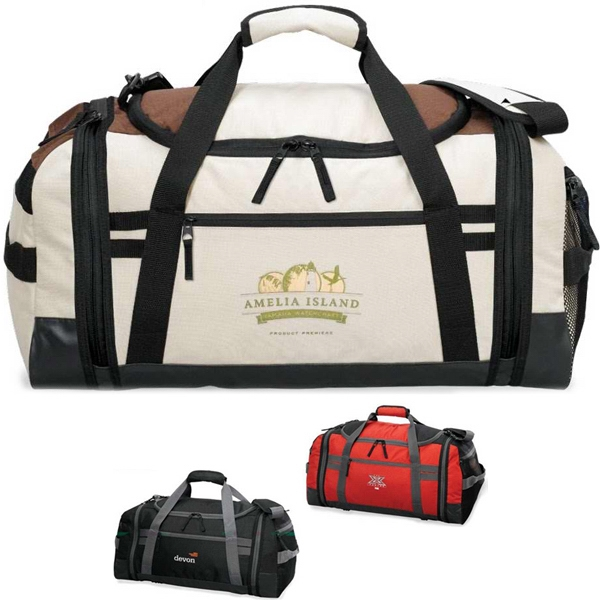 Expedition (r) - Trendy Two Tone Large Duffel Photo