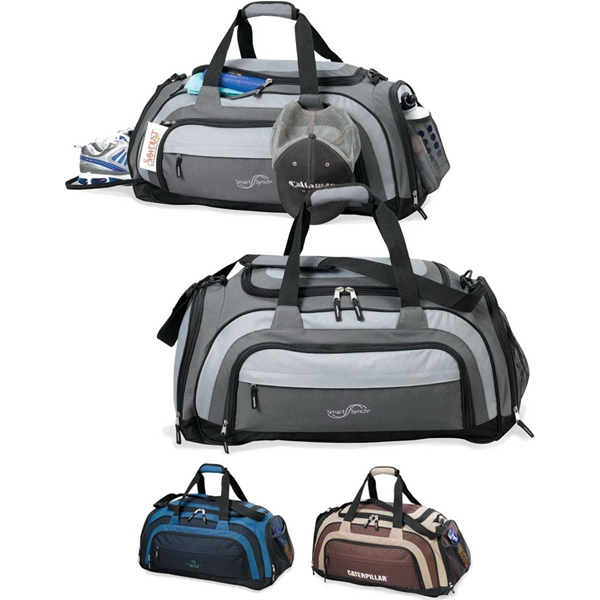 Terrain - Trendy Two-tone Extended Polyester Duffel Photo