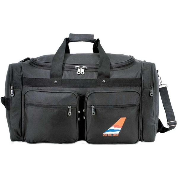 Weekender - Extra-large Sport/travel Duffel Bag With Roomy Main Compartment Photo